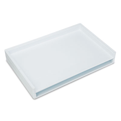 Giant Stack Flat File Trays, 39w x 26d x 3h, White