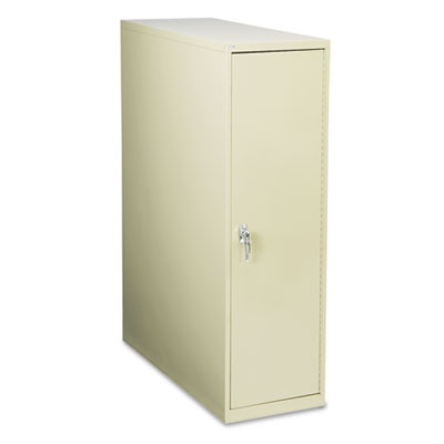 Large Enclosed Vertical File Cabinet, 12 Hanging Clamps, 16 x 39