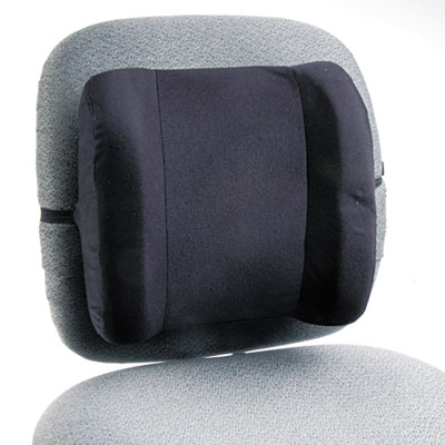 Remedease High Profile Backrest,123/4w x 4d x 13h, Black