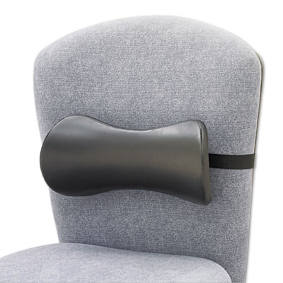 Lumbar Support Memory Foam Backrest, 14-1/2w x 3-3/4d x 6-3/4h,