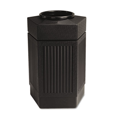 Canmeleon Indoor/Outdoor Receptacle, Pentagon, Polyethylene, 30g