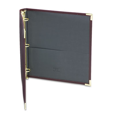 "Classic Collection Ring Binder Portfolio, 11 x 8 1/2, 1"" Capacit"