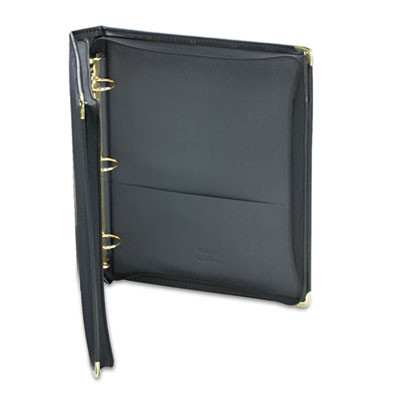 "Classic Collection Zippered Ring Binder, 11 x 8-1/2, 1-1/2"" Capa"