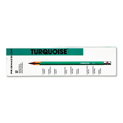Turquoise Drawing Pencil, HB, 1.98 mm, Dozen