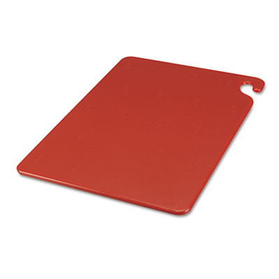 Cut-N-Carry Color Cutting Boards, Plastic, 20w x 15d x 1/2h, Red