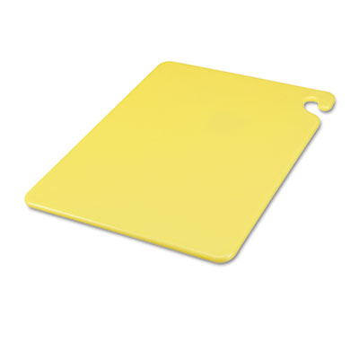 Cut-N-Carry Color Cutting Boards, Plastic, 20w x 15d x 1/2h, Yel
