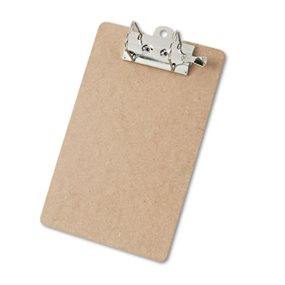 "Arch Clipboard, 2"" Capacity, Holds 8-1/2""w x 12""h, Brown"