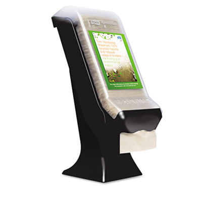Stand Napkin Dispenser, 8w x 5 2/5d x 19 1/2h, Black