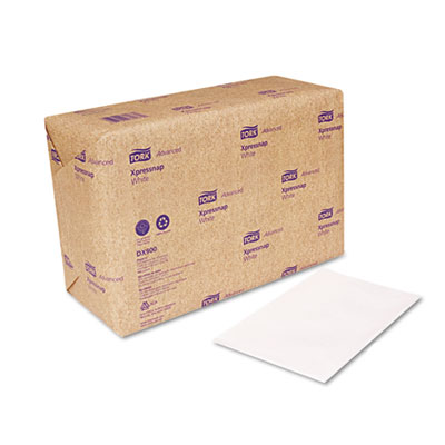 Xpressnap Dispenser Napkins, Interfold, 13 x 8 1/2, White, 6000/