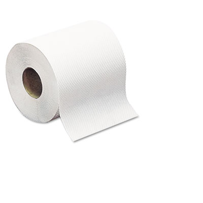 Hard-Roll Towels, White, 7 7/8 Wide x 350ft, 5.5 dia, 12 Rolls/C