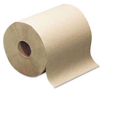 Hard-Roll Towels, Natural, 7 7/8 Wide x 350ft, 5.5 dia, 12 Rolls
