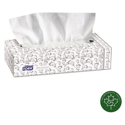 Advanced Extra Soft, 2-Ply Facial Tissue, White, 100/Box, 30 Box