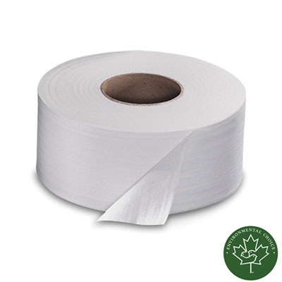 Advanced Jumbo Roll Toilet Tissue, 2-Ply, 1000ft Roll, White, 12