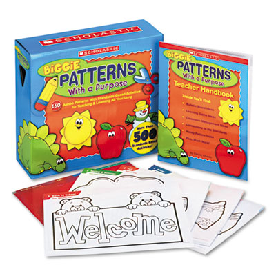 Biggie Patterns with a Purpose Reproducible Pages, Grades Pre K-