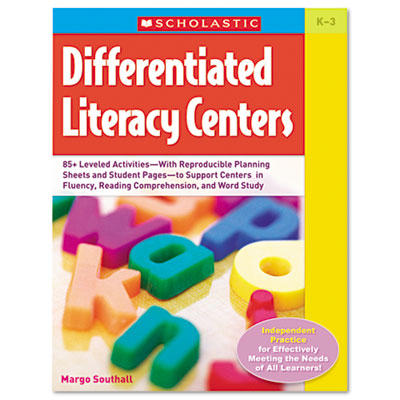 Differentiated Literacy Centers, Grades K-3, 224 Pages