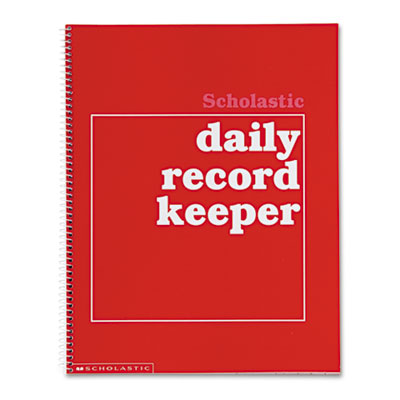 Daily Record Keeper, Grades K-6, 11 x 8-1/2, 64 Pages