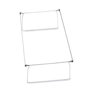 "Hanging Folder Frame, Legal Size, 23-27"" Long, Steel, 2/Pack"