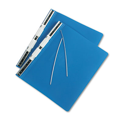 Hanging Data Binder With ACCOHIDE Cover, 12 x 8-1/2, Blue