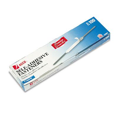 Premium Self-Adhesive Paper File Fasteners, Two Inch Capacity, 1