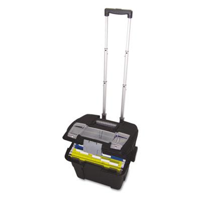 Premium File Cart, 15w x 16 3/8d x 14 1/4h, Black