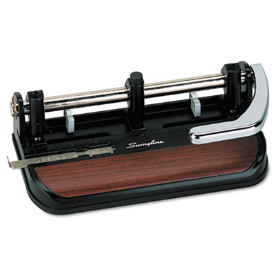 40-Sheet Heavy-Duty Lever Action Two- to Seven-Hole Punch, 11/32