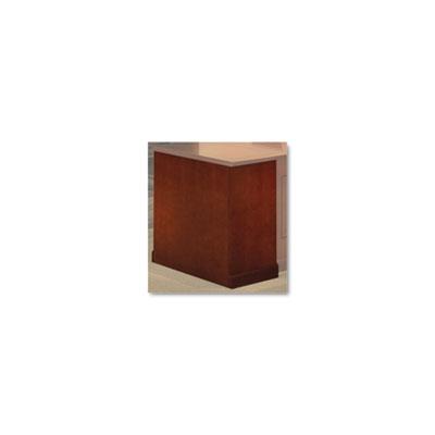 Sorrento Series Wood Veneer Right Leg For Desk Top, Bourbon Cher