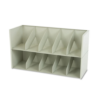 Add-A-Stack Shelving System Two-Shelf Filing Tier, 36w x 13-3/16
