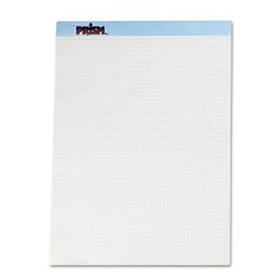 Prism+ Quadrille Perforated Pads, 8-1/2 X 11-3/4, Blue, 50 Sheet