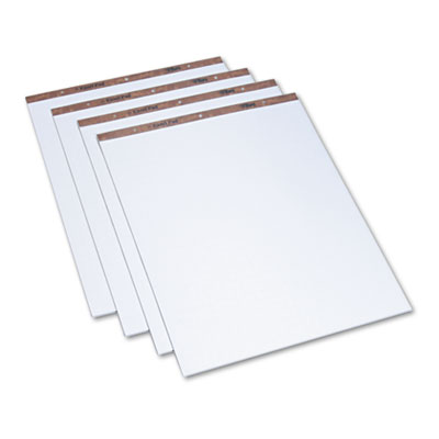 Easel Pads, Quadrille Rule, 27 x 34, White, 50-Sheet Pads, 4 Pad