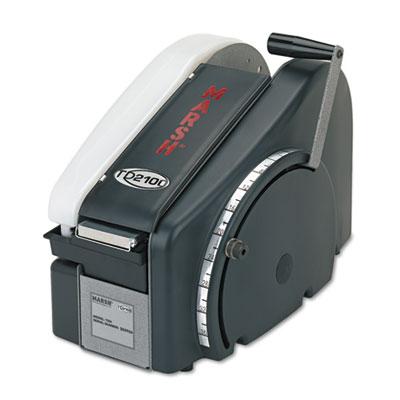 Manual Tape Dispenser For Gummed Tape w/48oz Reservoir, Steel Bl