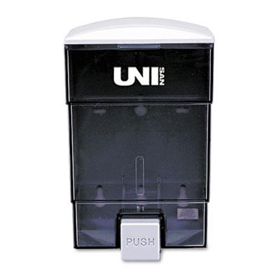 Deluxe Plastic Liquid Soap Dispenser, 50oz, 4 3/4w x 4 1/4d x 7