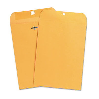 Kraft Clasp Envelope, Side Seam, 28lb, 7 1/2 x 10 1/2, Light Bro