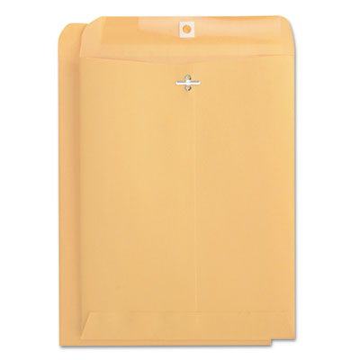 Kraft Clasp Envelope, Side Seam, 32lb, 9 x 12, Light Brown, 100/