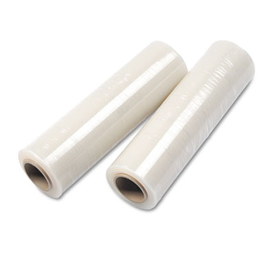 "Handwrap Stretch Film, 18"" x 2000ft Roll, 15 mic (60-Gauge EQ),"