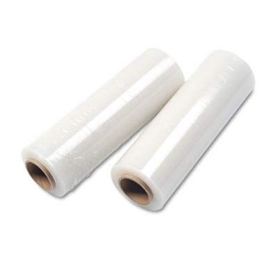 Handwrap Stretch Film, 16w x 1500ft Roll, 17 mic (70-Gauge EQ),