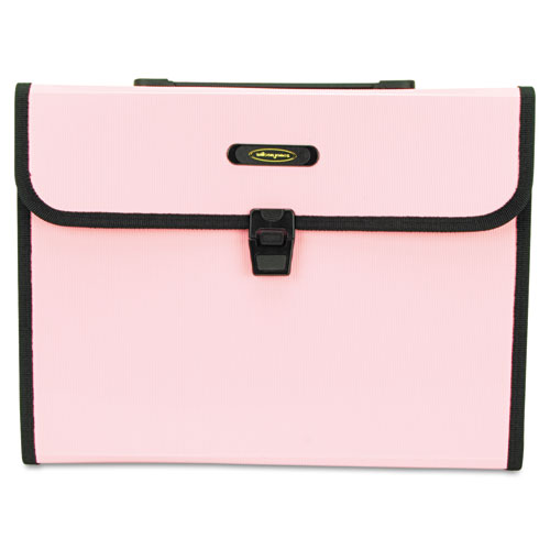 Wilson Jones Seven-Pocket Expanding File, 5 1/4 Inch Expansion, Letter, Pink at Sears.com