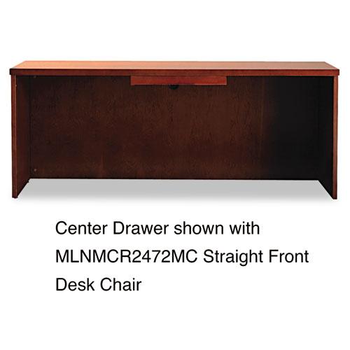 Mayline Mira Series Wood Veneer Center Drawer, 23w x 16d x 2h, Medium Cherry at Sears.com
