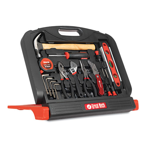 Great Neck 48-Piece Multi Purpose Tool Set in Black Stand-Up Case at Sears.com