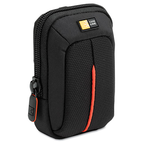 CLGDCB301 Case Logic Compact Digital Camera Case, Polyester\/Nylon, 3-1\/2 X 2 X 4-3\/4, Black