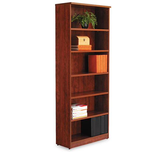alera valencia series bookcase six shelf 31 34