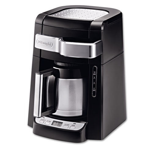 Coffee Maker Without Auto Shut Off : 10-Cup Frontal Access Coffee Maker, Black - CompleteOfficeUSA.com