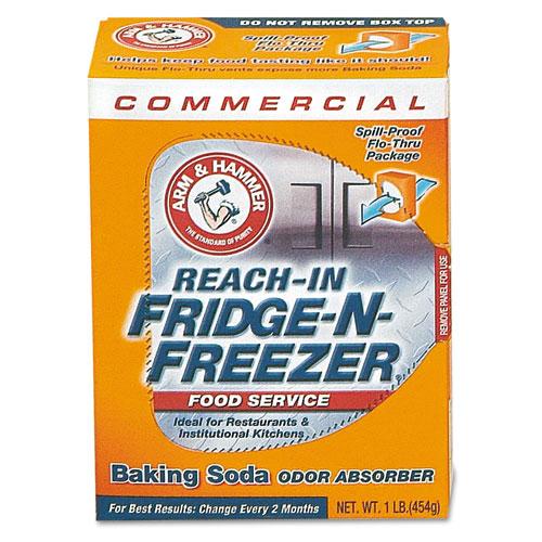 CDC3320084011 Arm Hammer Fridge-N-Freezer Pack Baking Soda, Unscented, Powder photo