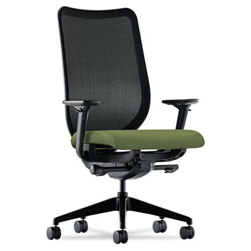HON Nucleus Series Work Chair, Black ilira-stretch M4 Back, Clover Seat - N103NR74 at Sears.com