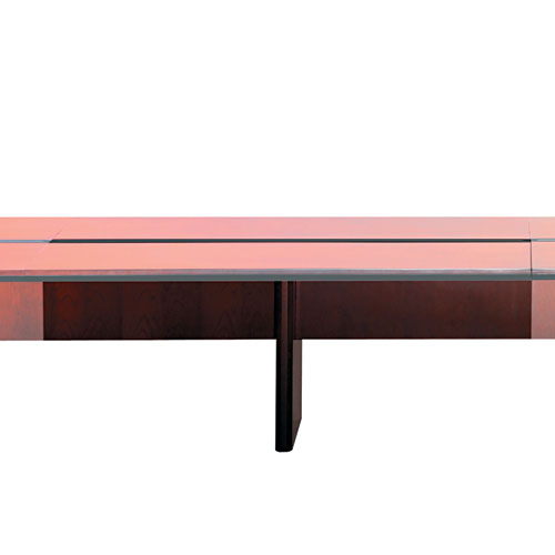 Corsica Conference Series Adder Modular Table Base Sierra Cherry - Mayline corsica conference table