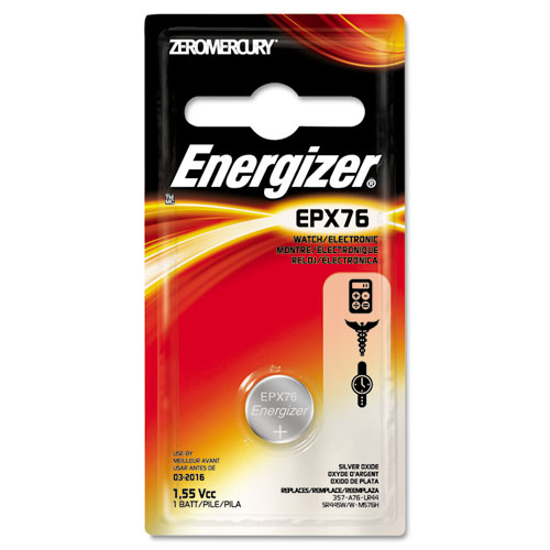 EVEEPX76BPZ Energizer Watch/Electronic Battery, Silvox, Epx76, 1.5V, Mercfree photo
