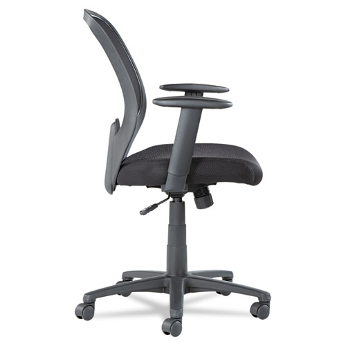 Swivel Tilt Mesh Mid Back Chair Height Adjustable T Bar