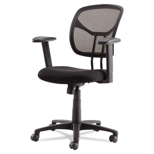 Swivel Tilt Mesh Task Chair Height Adjustable T Bar Arms