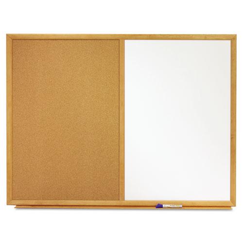 Combination Bulletin Board & Dry Erase Board