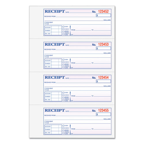 rent book template