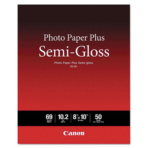Canon Photo Paper Plus Semi-Gloss, 69 lbs., 8 x 10, 50 Sheets/Pack - 1686B062 at Sears.com
